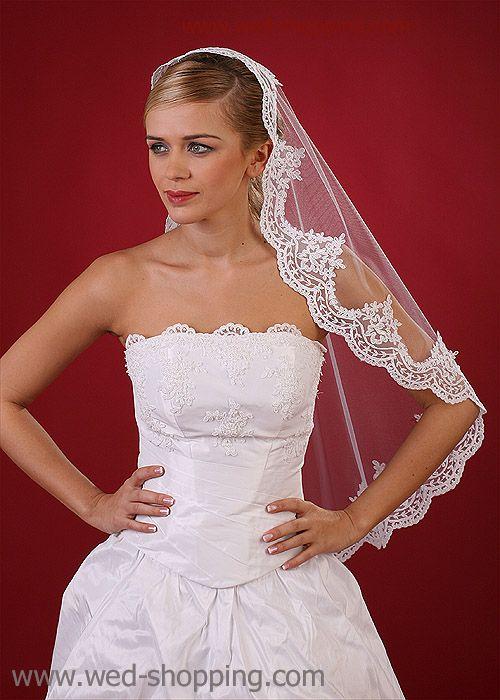 Bridal Veil Mantilla