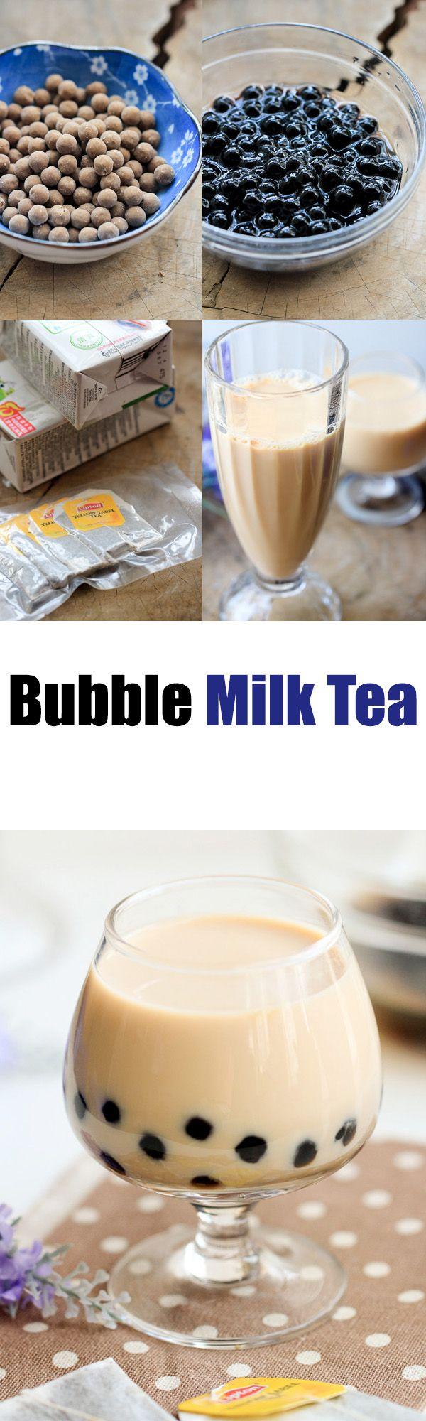 Bubble milk #tea #Chinese