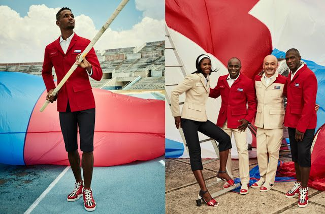 God Save the Queen and all: Christian Louboutin x Cuba Olympic Games Uniforms