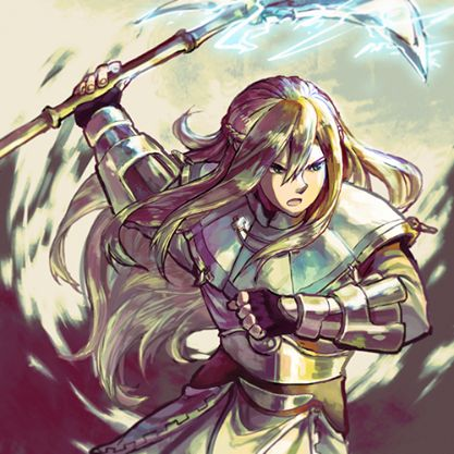 Fire Emblem Awakening - Libra I'm ashamed to say I thought he was a girl for three whole chapters.