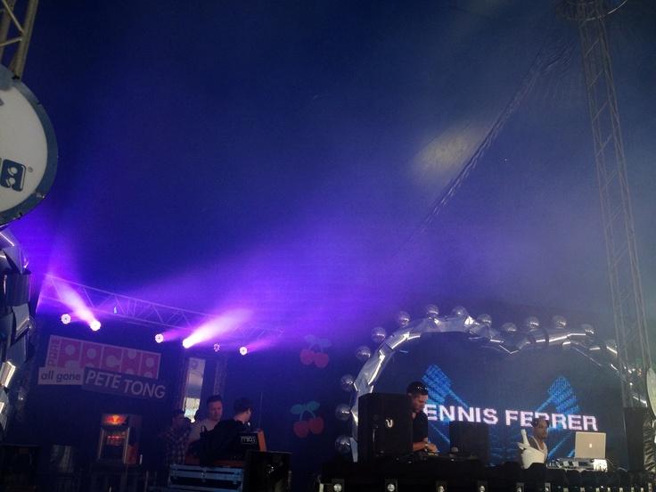 Dennis Ferrer @ Pacha Festival Amsterdam 19 May 2012