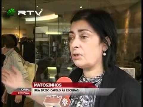 MATOSINHOS - RUA BRITO CAPELO ÀS ESCURAS