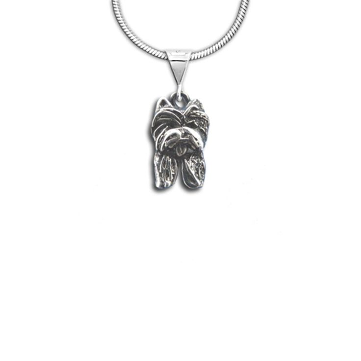 Sterling Silver Westie Pendant, handcrafted by a Florida artist: http://www.themagiczoo.com/sterling-silver-westie-pendant.html $39