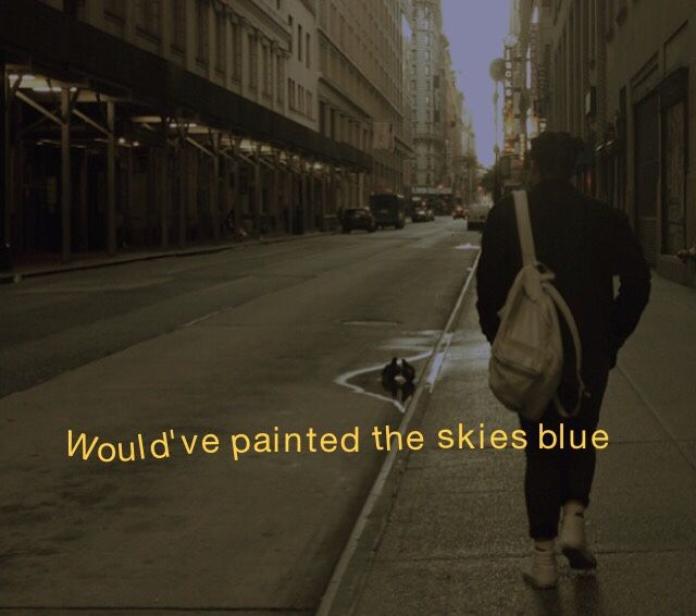 baby blue by king krule
