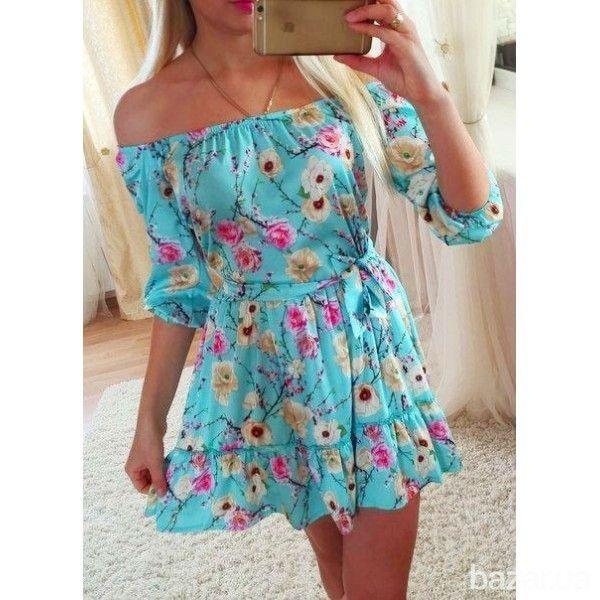 Платье Цветущий персик - Женская одежда Черкассы на Bazar.ua