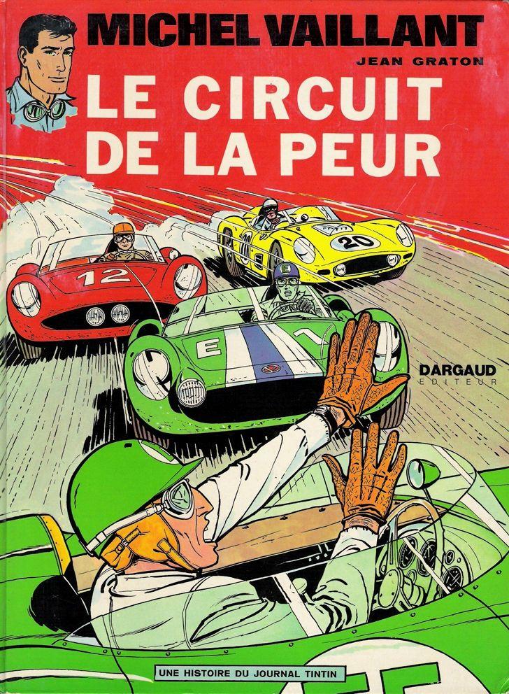 Michel Vaillant - Graton - 1961 http://jpdubs.hautetfort.com/archive/2012/05/05/bolides-d-antan.html