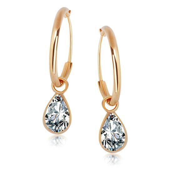 Złote Kolczyki, 129PLN www.YES.pl/54425-zlote-kolczyki-ZW-X-000-N00-KB10063 #jewellery #gold #BizuteriaYES #shoponline #accesories #pretty #style