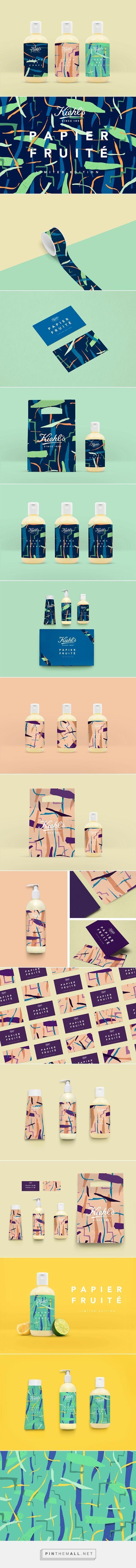 Kiehl's  Papier Fruité Packaging on Behance by Don't Try Studio   Fivestar Branding – Design and Branding Agency & Inspiration Gallery