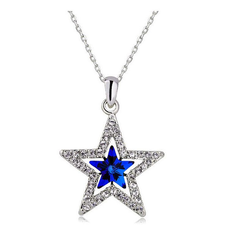 2209 best dallas cowboys images on pinterest football parties austrian crystal dc star necklace dallas cowboys aloadofball