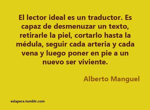 El lector ideal es un traductor