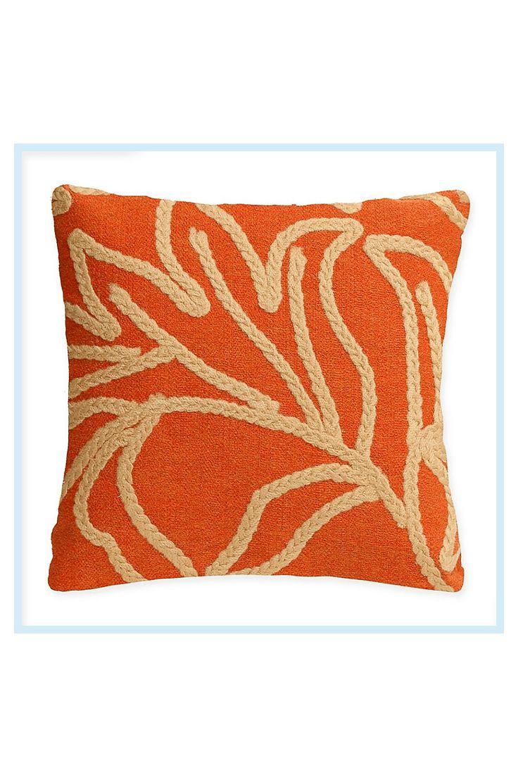 Liora Manne© Crochet Flower Square Indoor/Outdoor Throw
