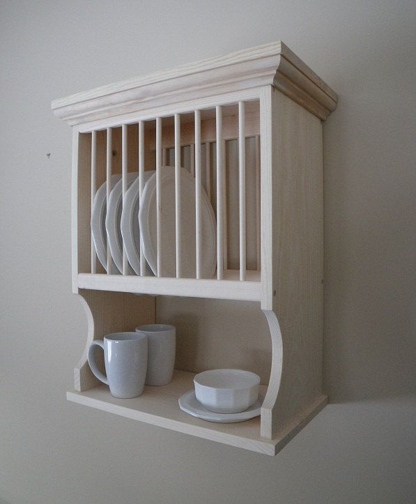 Wall Mounted 10 Plate Rack & 95 best Kitchen Plate rack wall mount images on Pinterest | Dish ...