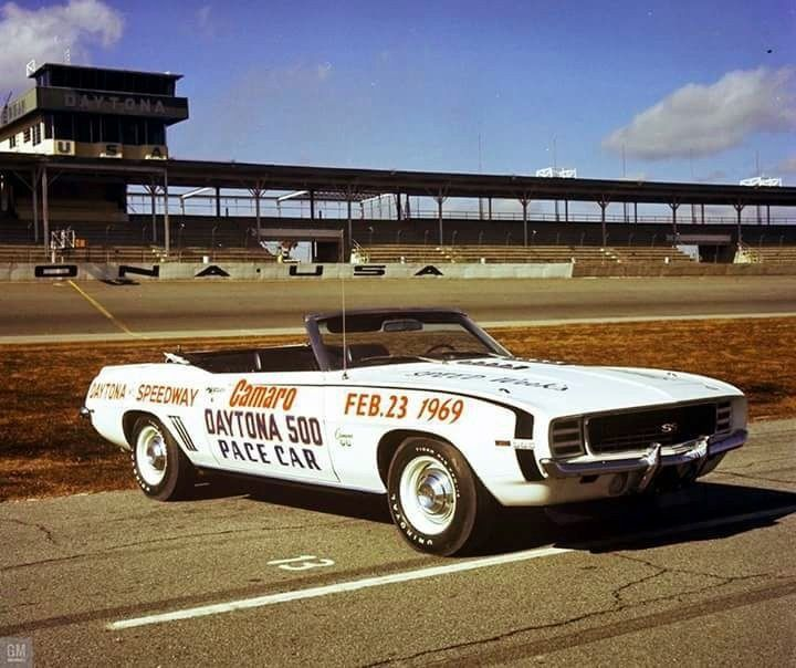 Chevrolet Camaro SS Convertible, 1969, official Pace Car Daytona 500.