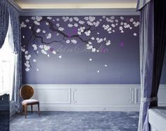 die besten 10+ kirschblüten mädchen ideen auf pinterest   blondes ... - Wandgestaltung Kinderzimmer Madchen