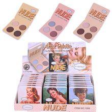 Trucco di marca 6 Colori Matte Eye Shadow Palette Minerali Nudo Balsamo Polvere Pigmenti Cosmetici Glitter Eyeshadow Palette Make Up(China)