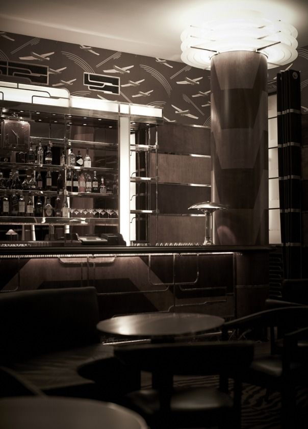 8 best great bars pubs images on pinterest for Deco restaurant americain