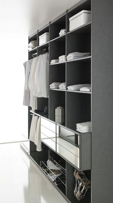 #coulidoor #dressing #grey #gris #deco #home #room #rangement #dress #dressroom #black #design
