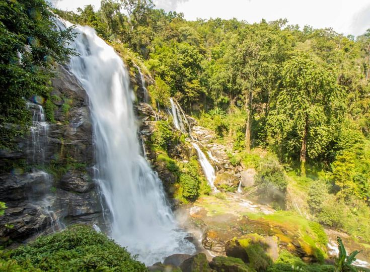 Wachirathan Waterfall, Doi Inthanon National Park - Thailand
