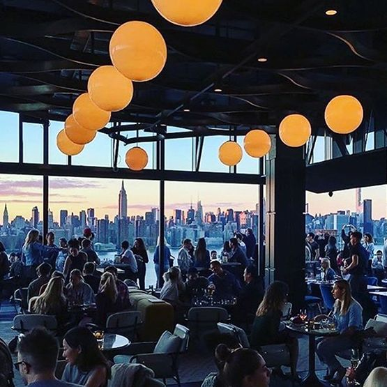 Westlight  A 22nd-floor rooftop bar with sweeping views of New York City atop The William Vale.