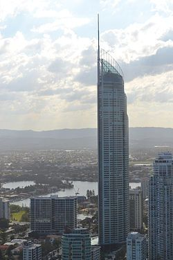 47. Q1 (building) - Gold Coast Australia, 322.5m with 78 floors