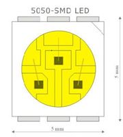 High-quality LED chips:Housing:Quality LED chips already have housing made of thermally conductive plastic that dissipates heat rapidly and prolongs the service life of the LED chip itself.Semiconductor:Used semiconductor is larger in size and thus more durable and thermally stable.It emits more light without requiring more power.Semiconductors connection:Connection is made using gold between semiconductor and the power area of LED #ledstrip#strip#ledtape#tape#rgb#rgbled#rgbstrip#light#led