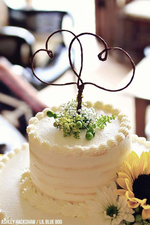 Rustic Wedding Cake Topper Ideas