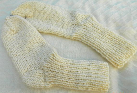 SALE  Ecological hand knitted SOCKS 100 sheep by TrendingSlippers, $9.99