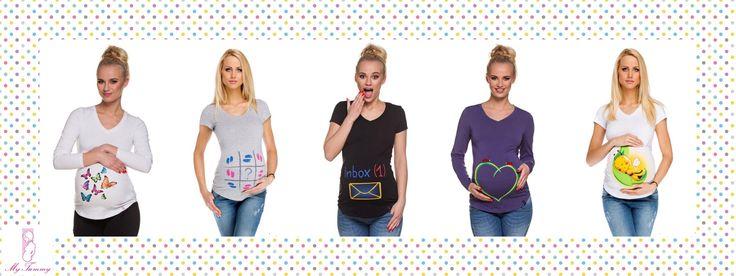 Těhotenské oblečení | My Tummy - Luxusní, elegantní a praktické oblečení pro těhotné a kojící ženy