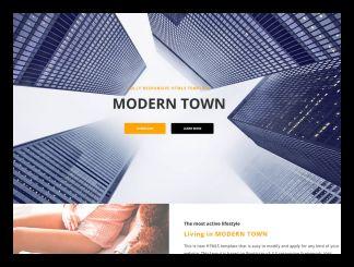 kostenlose HTML5 responsive Modern template live demo