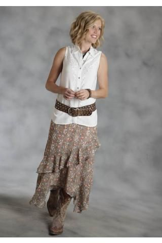 209 best images about Western outfits on Pinterest | Maxi skirts ...