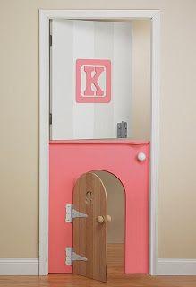 caractériELLE: 13 idées de portes pour les chambres d'enfants..