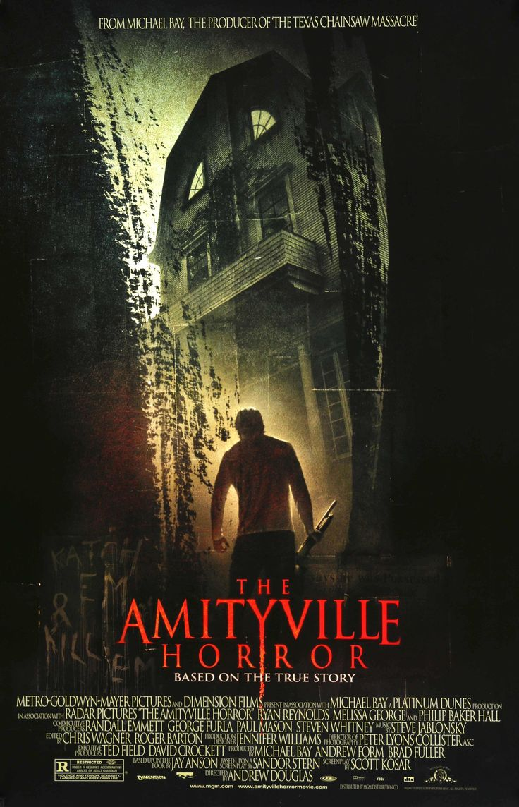 "Amityville Horror (2005) Vintage One-Sheet Movie Poster - 27"" x 40""                                                                                                                                                                                 Mais"