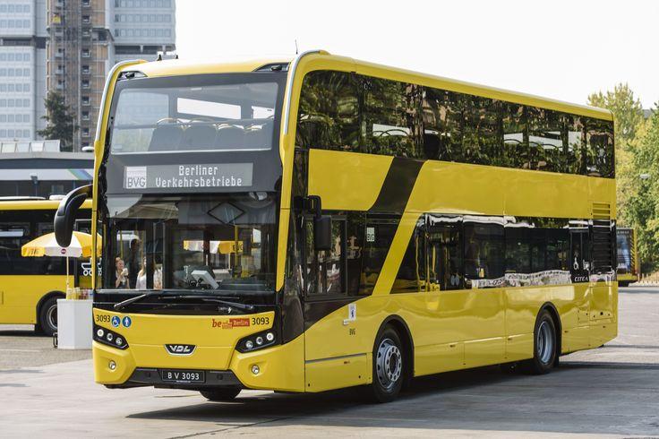 VDL Citea Low Floor double-decker was delivered to the Berlin Transport Authority (BVG, Berliner Verkehrsbetriebe)