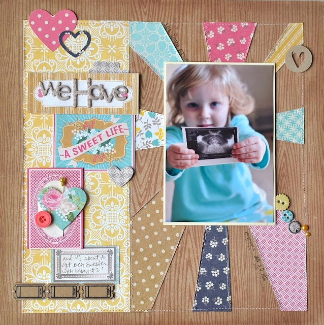from {creative crafting} by Jennifer Chapin: Gcd Studios, Layout Creative, Scrapbook Inspiration, Photo Layout, Creative Crafts, Paper Pieces, Scrapbook Layout, Paper Crafts, Sweet Life