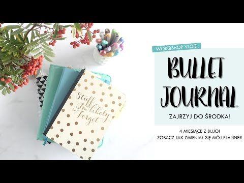 Bullet Journal | zajrzyj do mojego planera - 4 miesiące z bujo | worqshop - YouTube