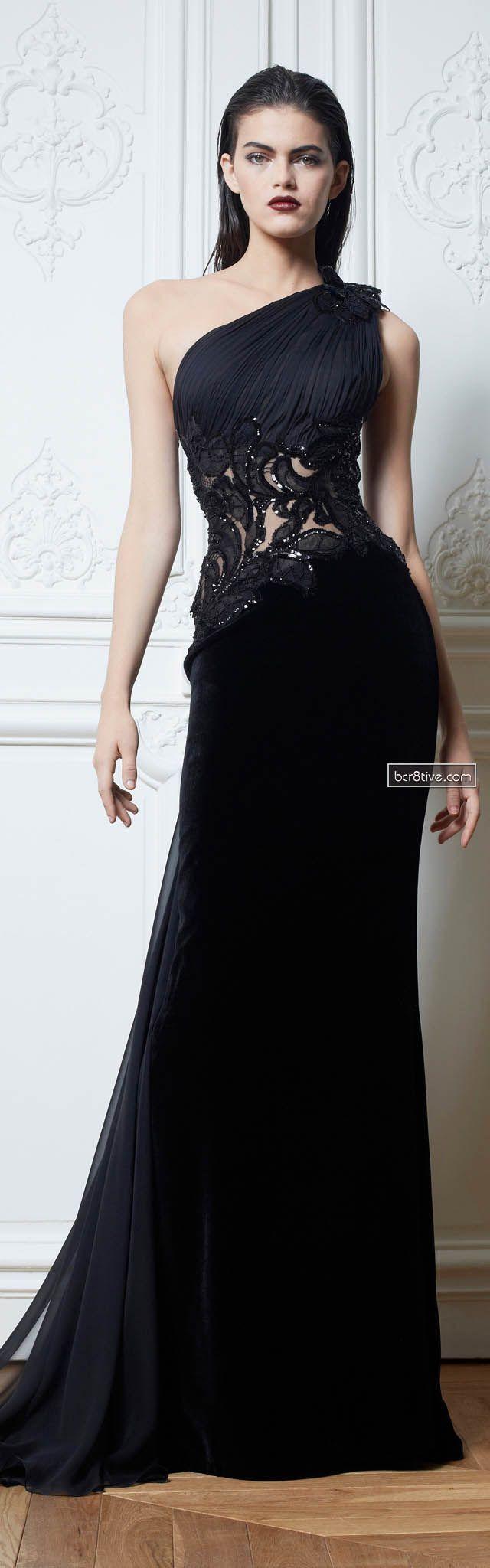 Zuhair Murad Fall 2013 RTW. Stunning dress that has been stunningly modelled.