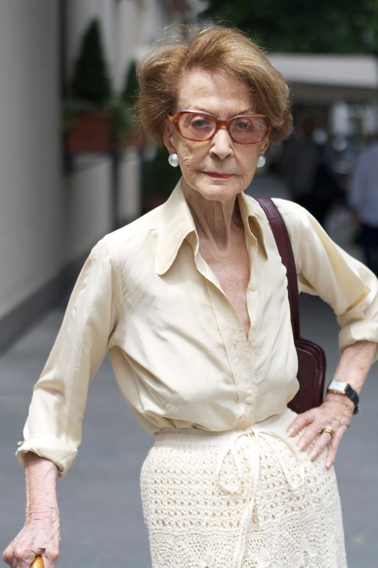 Advanced Style, by Ari Cohen. The Sartorialist of mature ladies fashion. Love!