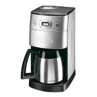 The Cuisinart DGB650BCU Grind and Brew filter coffee maker grinds fresh coffee beans and is fully automatic. It can make up to 10 cups of coffee in just eight minutes and is fully programmable. The coffee machine is fully programmable with preset brewing times. Other great features include a permanent professional gold tone filter which will not distort the taste of your coffee and a double walled insulated carafe which not only looks good but will keep your coffee warm for up to 12 hours…