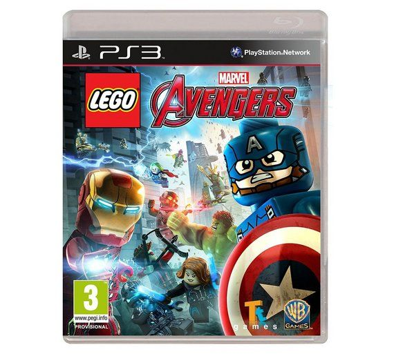 Buy LEGO Avengers Game - PS3 at Argos.co.uk - Your Online Shop for PS3 games, PS3, Video games and consoles, Technology. £15.99 - not a new game. eBay????
