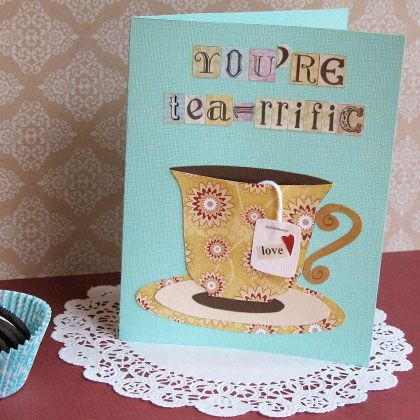 Teacup Tidings tutorial found on Spoonful site.