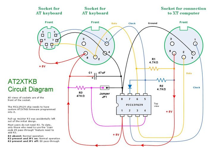 Ps2 Mouse To Usb Wiring Diagram. Wiring. Diagram Images And