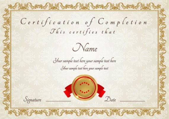 Certificados Y Diplomas Para Editar E Imprimir Gratis