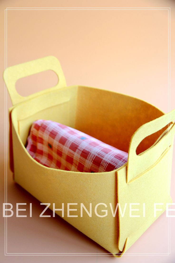 $5 to $10 Felt Storage Box in Different Sizes and Color