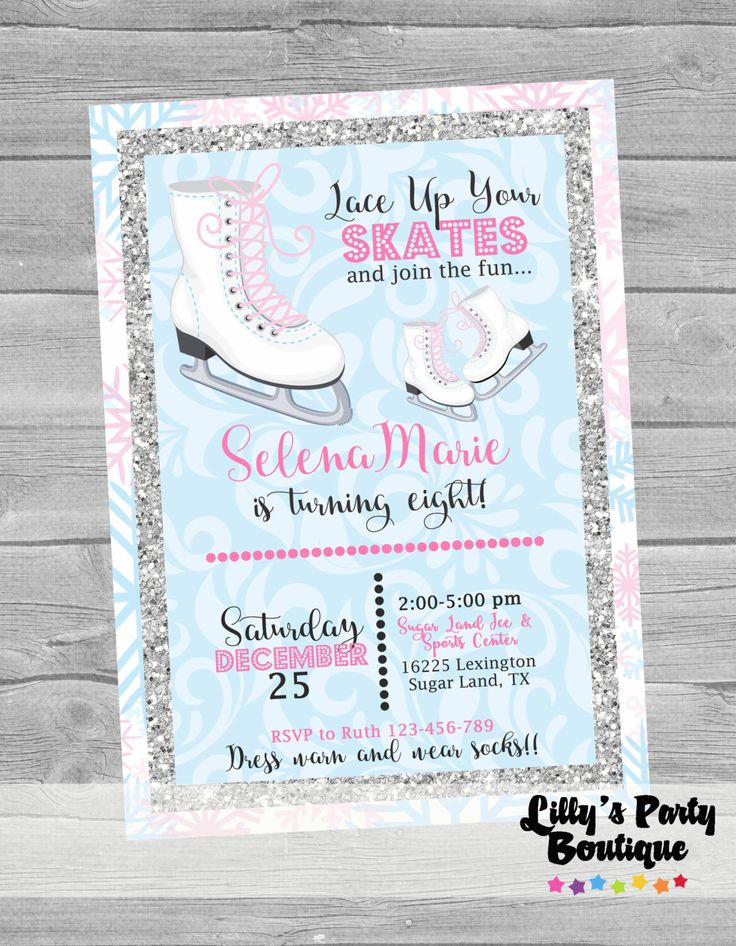 102 best Ice Skating Party images on Pinterest | Ice skating party ...