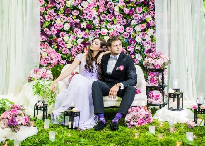 可愛すぎる背景でヒロイン気分♡結婚式で作りたい「フォトブース」アイデアまとめ*のトップ画像