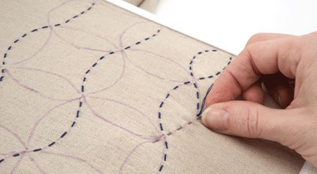 sashiko-vertical-stitch tutorial