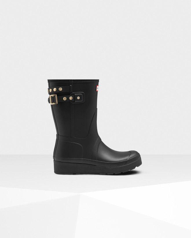 Original Short Wedge Stud Rain Boots