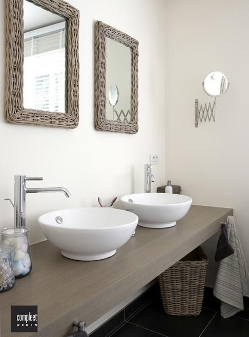 Bathroom, badkamer, wasbak, landelijk
