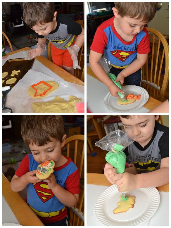 kids decorate halloween cookies - Google Search