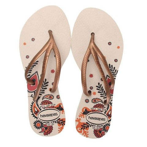 Buy these beautiful flip flops that will perfectly fit for every girl! Havaianas Tria Print Beige Flip Flop @flopstore.com https://www.flopstore.com/com_english/havaianas-tria-print-beige-flip-flop.html